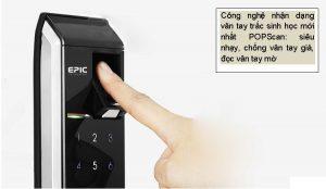 Khóa điện tử Epic EF-8000L và đẳng cấp vượt trội